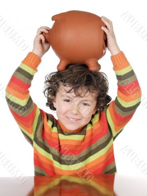 boy with the full head of savings