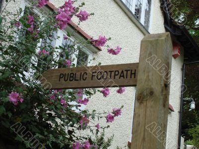 Public Footh Path