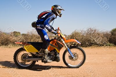 Bike desert race