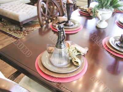 Table Plate Setting