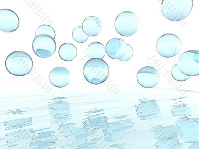 soap liquid balls