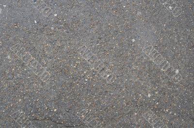 texture of old wet asphalt