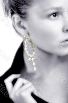 Lovely earring z/w