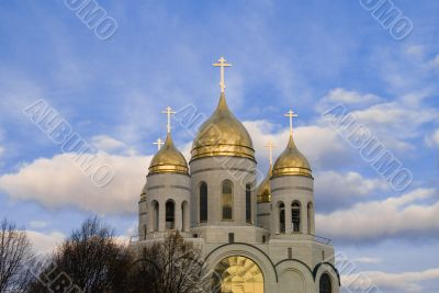 Domes of Orthodoxy church
