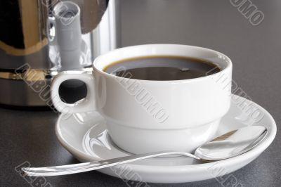 Serving Black Coffee
