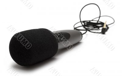 Small Microphone w/ Cable