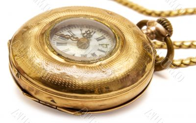 Micro Pocket Watch - Side View