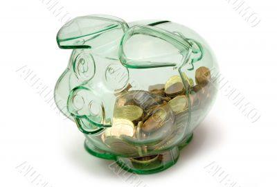 Transparent Piggybank