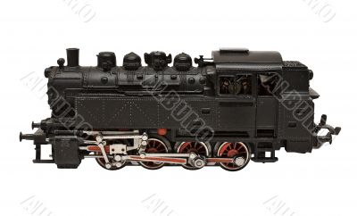 Steam Engine Model w/ Path - Side View