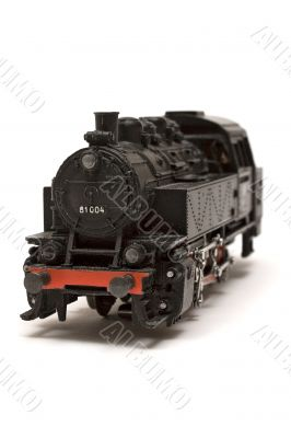 Steam Engine Model - Front View