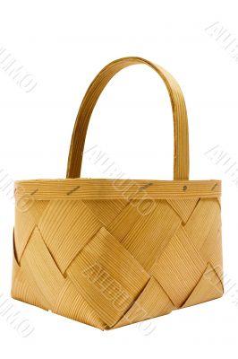 Wooden Basket w/ Path