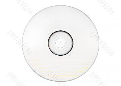 Disc Labeling - Blank White Disc w/ Path