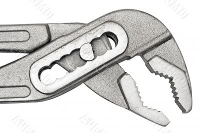 Gaspipe Pliers w/ Path - Close View