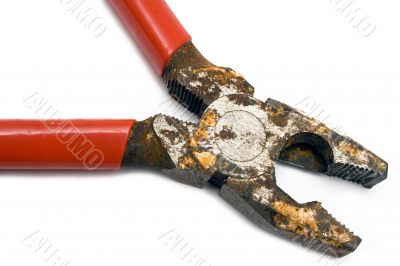 Corroded Pliers