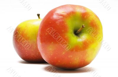 Two Red-Yellow Apples in a Row