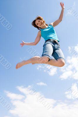 she loves jumping