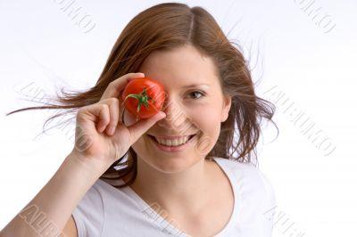 eye equal tomato