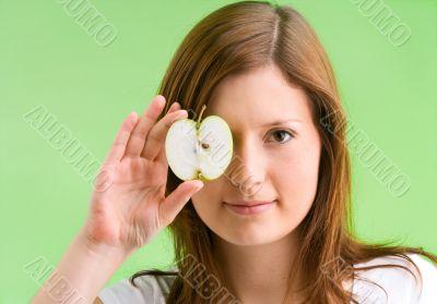 apple equal eye