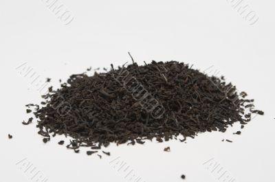 heap of black tea