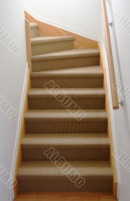 Internal stair case