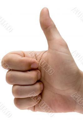 Thumbs Up w/ Path