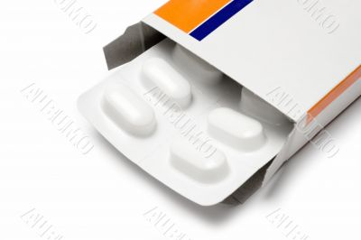 Pack of Pills - Close View