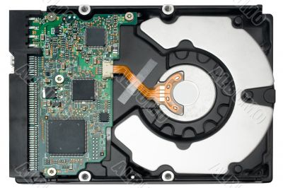 Internal Hard Disc w/ Path - Top View