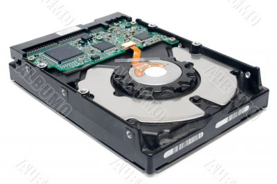 Internal Hard Disc - Perspective View