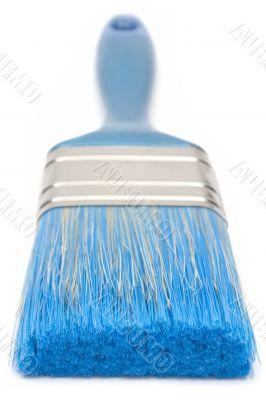 Blue Paint Brush - Front View