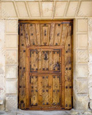Medieval Spanish Door