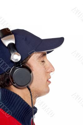 Listening chillout music