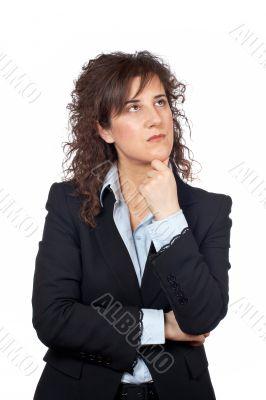 Worried business woman