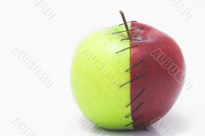 Stitched Apple
