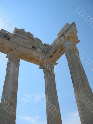 Temple in Side (Turkey)