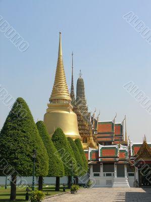 Thai temple in Bangkok
