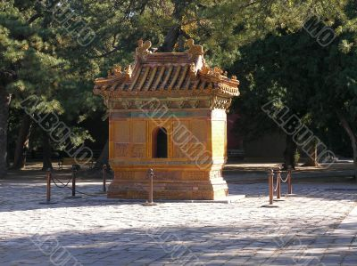 Chinese temple in Beijing