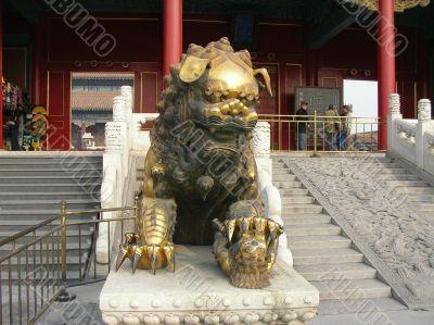 Chinese Dragon in Forbidden City (Beijing)