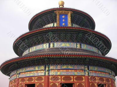 Chinease temple in Beijing