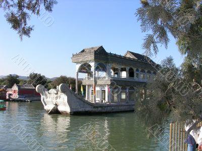 Marble ship in Beijing