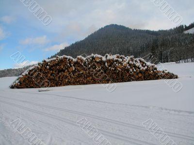Cross-country ski run