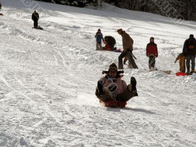 Extreme sledging