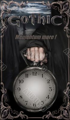 clock -face in gothic