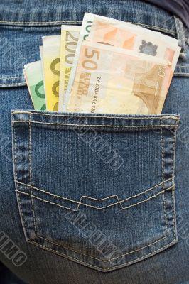 Stuffed Trouser Pocket