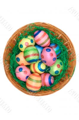 Easter Decoration - Top View