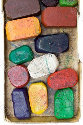 Dirty Wax Crayons
