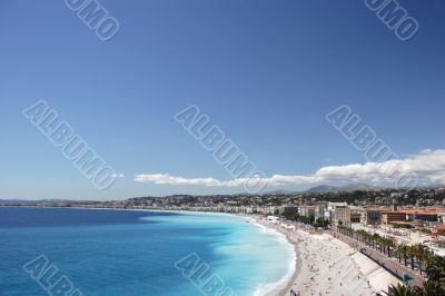 Nice Coastline - with clear space