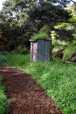 Path to outhouse