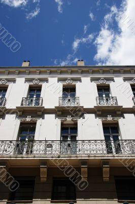 Old apartment complex