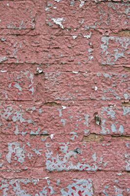 Peeling Painted Bricks