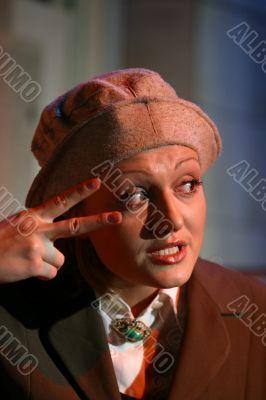 Portrait actress